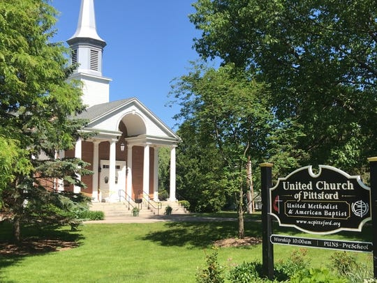 United Church of Pittsford on State Route 64, or South