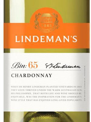 The Lindeman's Bin 65 chardonnay is a well-made wine that is easily found at many retailers.