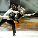 "Valerie Rockey performs with Ade Obayomi during Wednesday's episode of ""So You Think You Can Dance."""