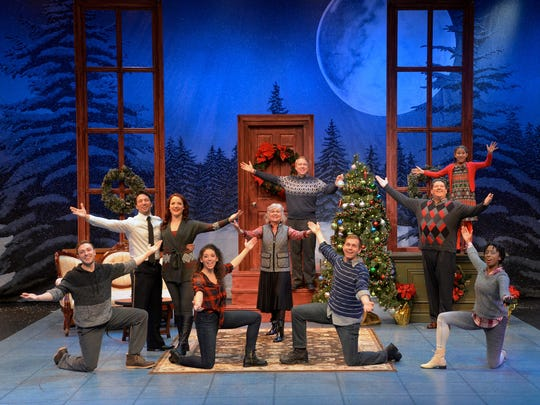 "The cast of ""Christmas Inn."" See the last performance on Dec. 23 at Westchester Broadway Theatre."