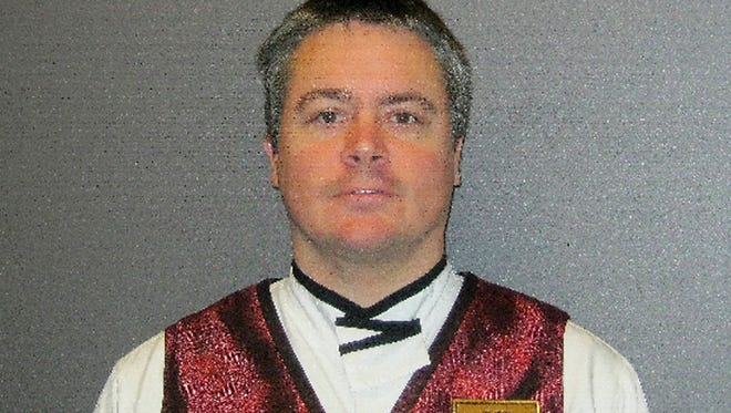 This undated photo provided by the Las Vegas Metropolitan Police Department shows Anthony Wrobel. Wrobel is accused of opening fire on a picnic for a group of employees of a Las Vegas Strip casino-resort, killing a woman and critically injuring a man on Sunday, April 15, in what investigators called workplace violence.