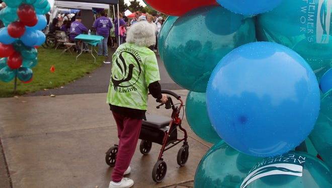 "The Alzheimer's Network stages its annual ""Walk to Remember"" fundraiser in September at Riverfront Park in Salem."