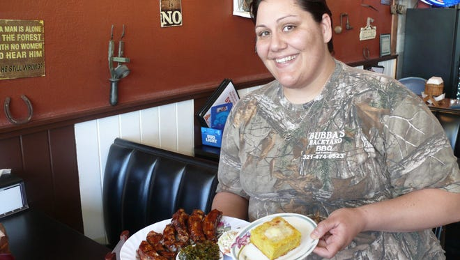Amanda Nye is part of the team at Bubba's Backyard BBQ in Melbourne's Lake Washington neighborhood.
