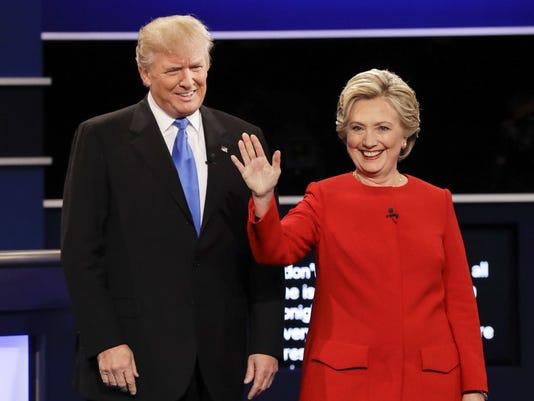 #stockphoto-Clinton-Trump debate