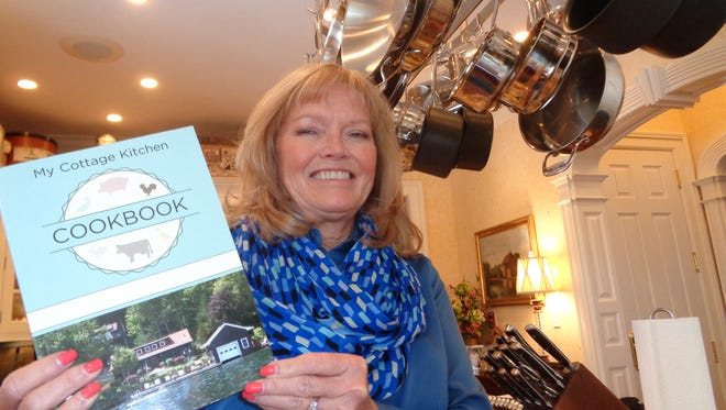 Tracy Maines has published a cookbook filled with her favorite recipes. She is donating 100 percent of the profits to the Food Bank of the Southern Tier.