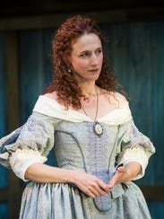 Cassandra Bissell as Rosalind in the Utah Shakespeare