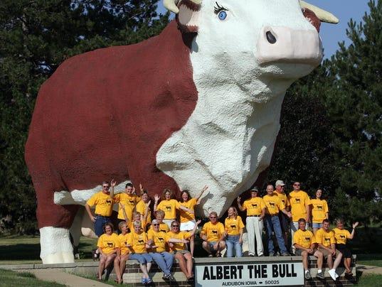 Albert the Bull and Audubon committee