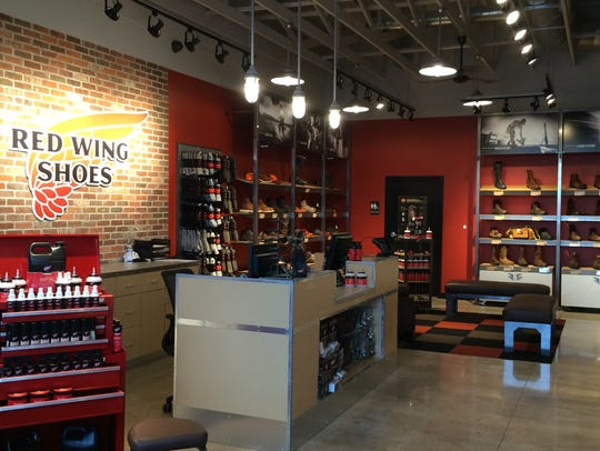 Red Wing Shoes opened in Grand Chute in late June 2015.