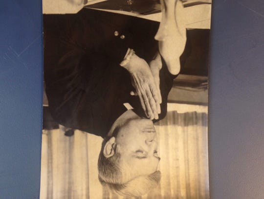 Bishop Bernard Law, age 47, 1979