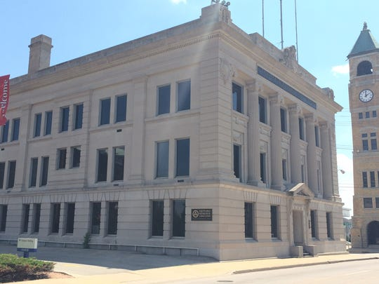 The Equitable Reserve building in downtown Neenah.