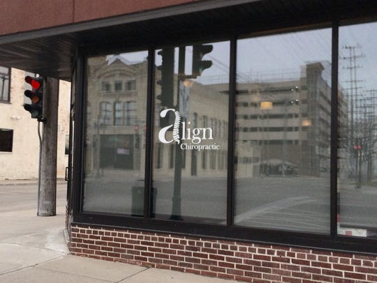 Align Chiropractic will move from this downtown Neenah