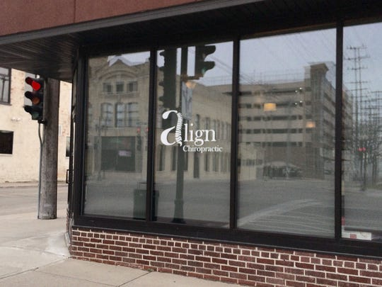 Align Chiropractic will move from this downtown Neenah spot and Radiance Spa will move in.