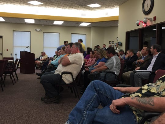 Residents of Quarry Road packed a Lebanon City Council meeting about the annexation and zoning proposal that could lead to a subdivision estimated now at about 400 homes.