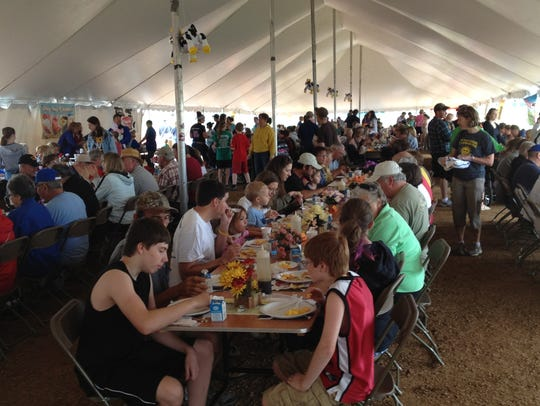 The 37th annual Portage County June Dairy Brunch and