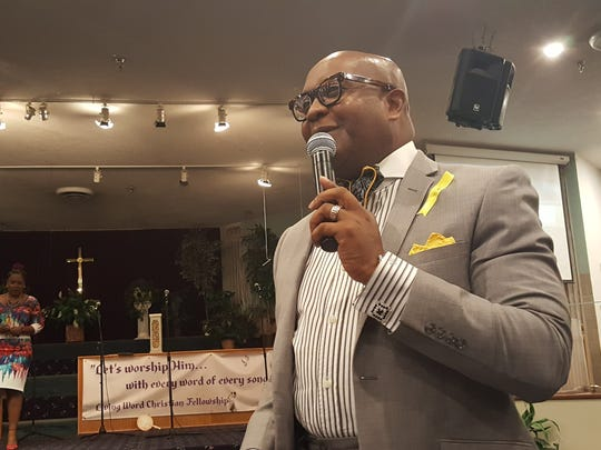 Macedonia Baptist Church Pastor Tommy D. Miles says