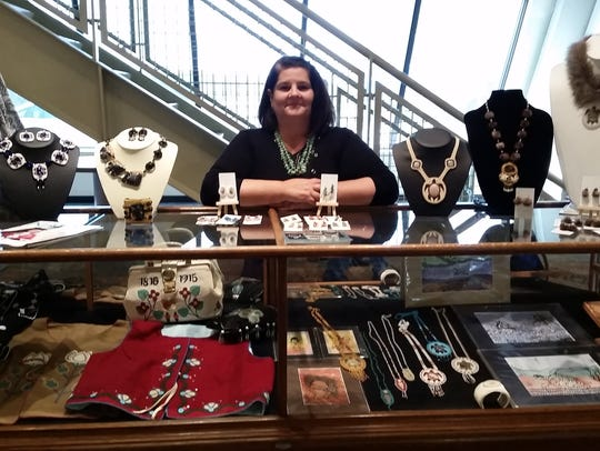 The Native American art show and sale is this weekend at Angel Mounds.