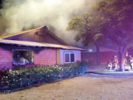 Scottsdale house fire
