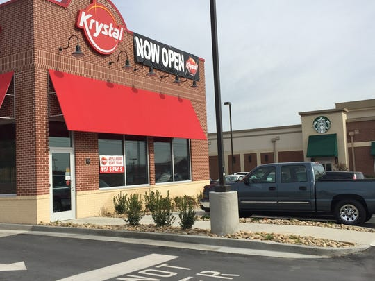 This Krystal's recently opened on Lebanon Road in Mt. Juliet.