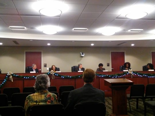 The York City Council debates the city's 2017 budget