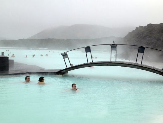 Blue Lagoon in Reykjavik, Iceland is on a lot of people's