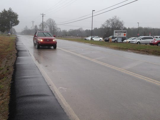 Rutherford County officials want more fees for growth to pay for road projects, such as adding shoulders on Baker Road by Brown's Chapel Elementary School.