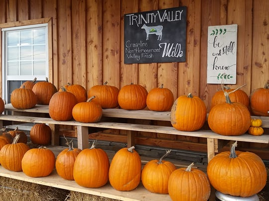 Trinity Valley sells a variety of items at their farm