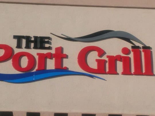 The Port Grill prepares for opening day.