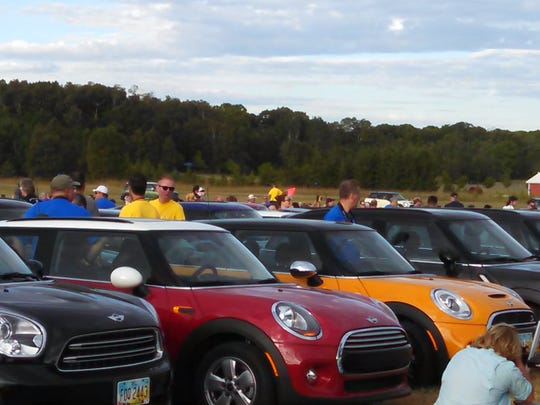 Owners of Mini Cooper cars will converge on the Mackinac