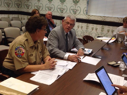 Sheriff presents budget
