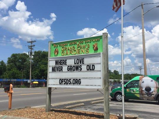 Old Friends Senior Dog Sanctuary, a nonprofit that