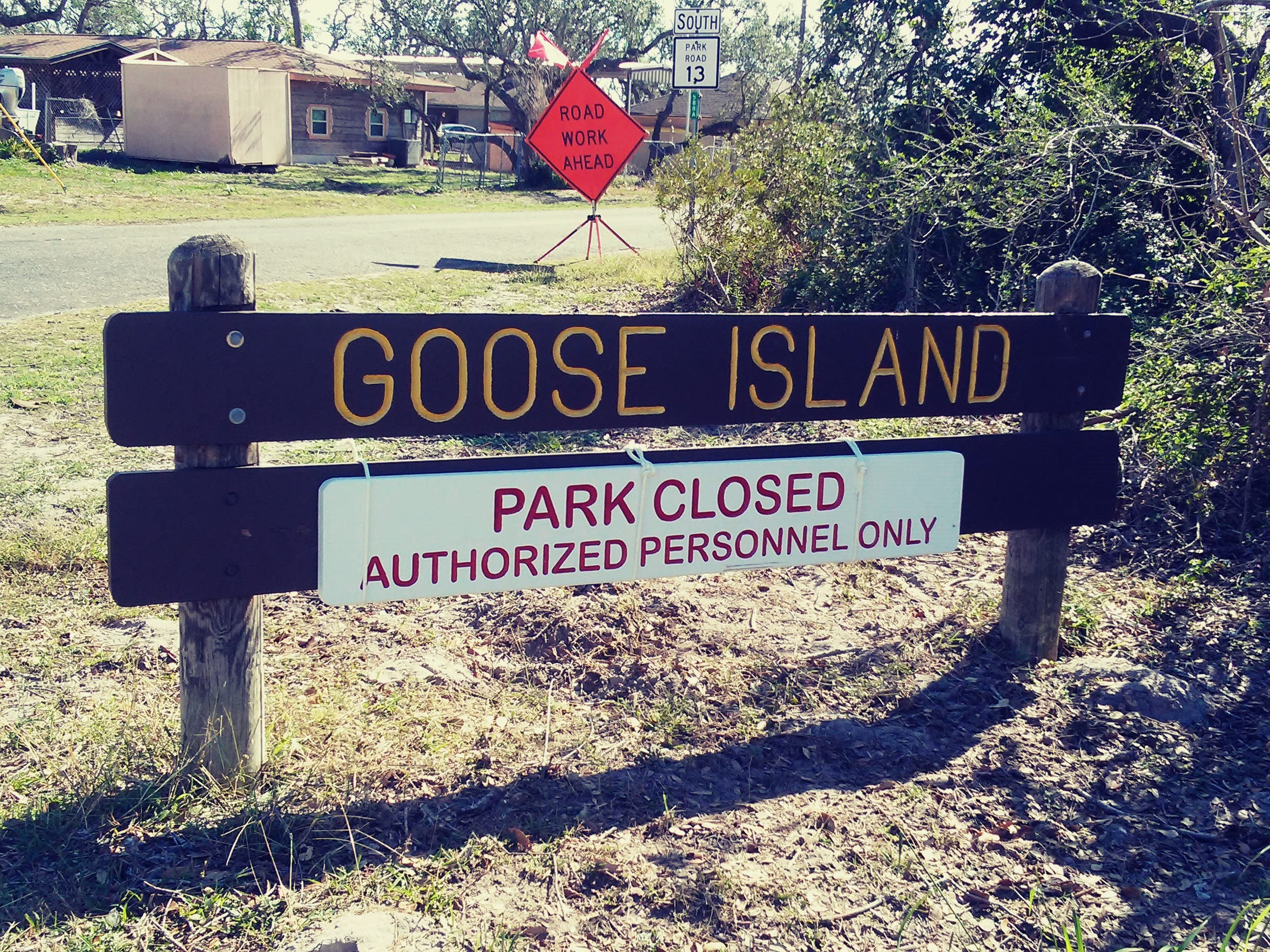 Goose Island State Park reopened after it was partially restored and repaired. Camping is available within about 64 percent of the park's campsites.