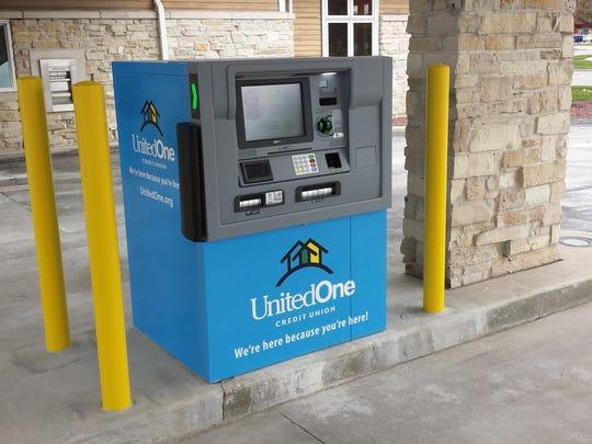 UnitedOne Credit Union's Personal Teller Machines were