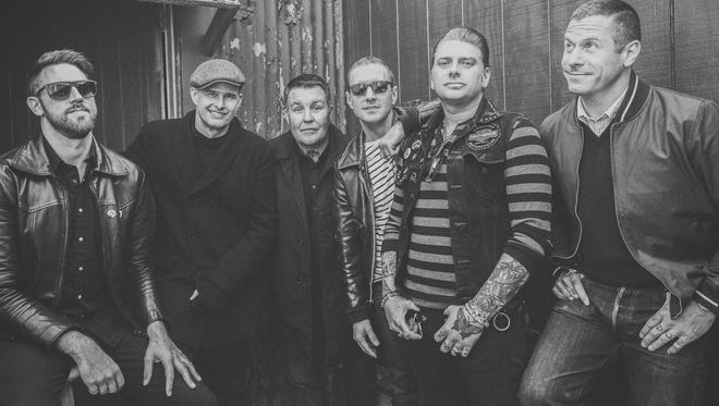 After Rancid gave Dropkick Murphys (pictured) its big break 20 years ago with a record deal, the two bands will be touring together this summer, with a Milwaukee stop at the BMO Harris Pavilion August 9.