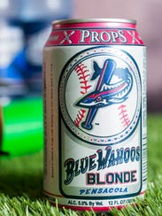 Blue Wahoos Blonde is a new team beer from Props Brewery