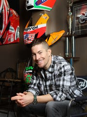 Nicky Hayden and his signature smile were able to rest a few weeks during the off season at his home in Owensboro.
