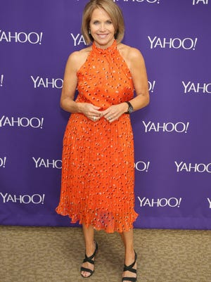 Journalist Katie Couric attends the 2015 Yahoo Digital Content NewFronts at Avery Fisher Hall on April 27, 2015 in New York City.