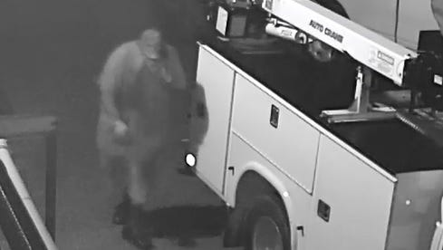 The identity of this man, who broke into Severn Trent Services on Country Lakes Drive.