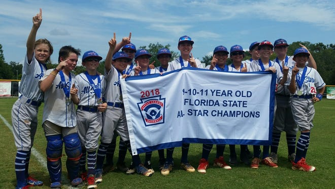 The Martin County North Little League 11U All-Star team won its first Florida State Championship in the 11U Division this past Sunday.