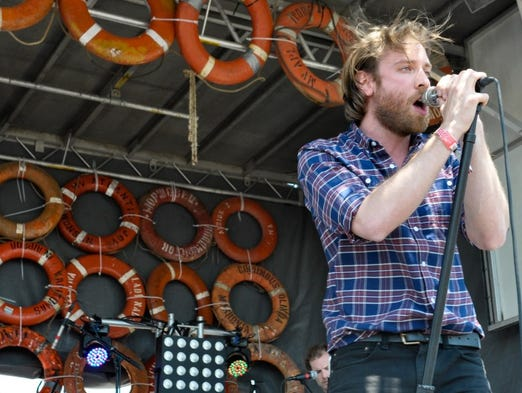 Empires perform on the BMI stage at Hangout Music Fest.