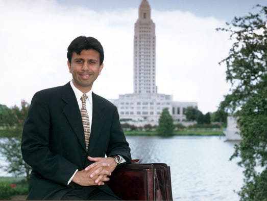 Bobby Jindal, pictured here in 1999, was a former USA