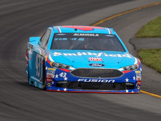 Aric Almirola's best finish of 2016 came at the season-opening