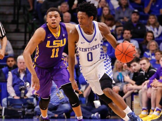 Kentucky Basketball Top 5 Point Guards Of The John: Kentucky's De'Aaron Fox On NBA Draft: I'm The Best Point Guard