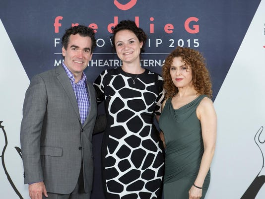 Brian d'Arcy James, Allison Isom, Bernadette Peters