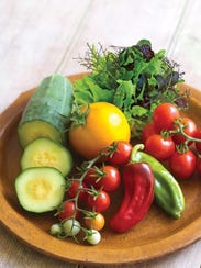 Eating right - like lots of fruits and veggies - can