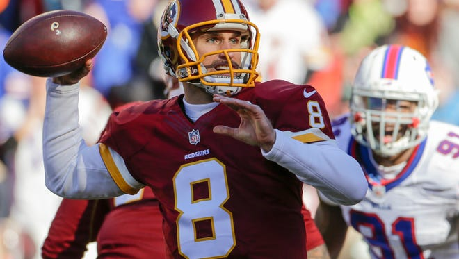 Kirk Cousins (8) and the Washington Redskins can clinch the NFL East with a win over the Eagles on Saturday.