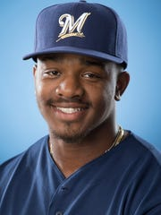 Troy Stokes Jr. was a fourth-round draft choice of the Brewers in 2014.