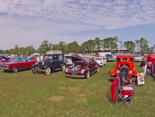 Last year's American Car Classic Radio Show car and