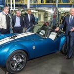Techmer PM plans to relocate its subsidary's Pennsylvania production facility to New Castle early next year. President Barck Obama and Vice President Joe Biden visited the company's Tennessee plant in January, where they viewed a 3D-printed Shelby Cobra made using Techmer materials.