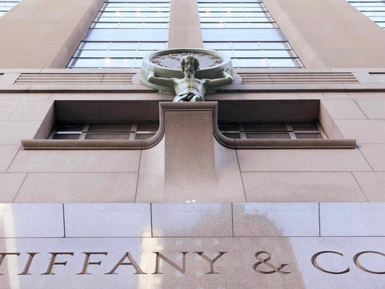 The Tiffany & Co. flagship store on Fifth Ave. is photographed