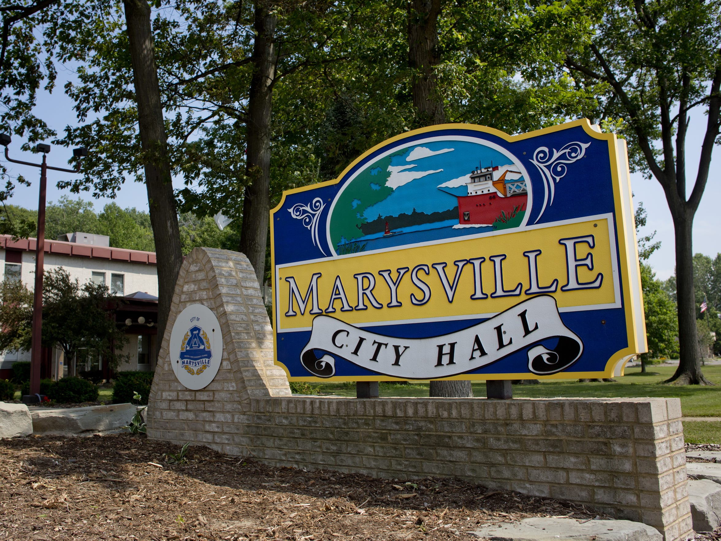 Marysville City Hall, 1111 Delaware Ave.
